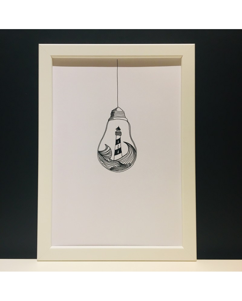 Glühbirne | Poster