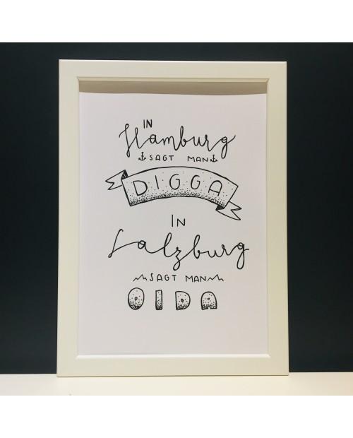 Digga Oida | Poster